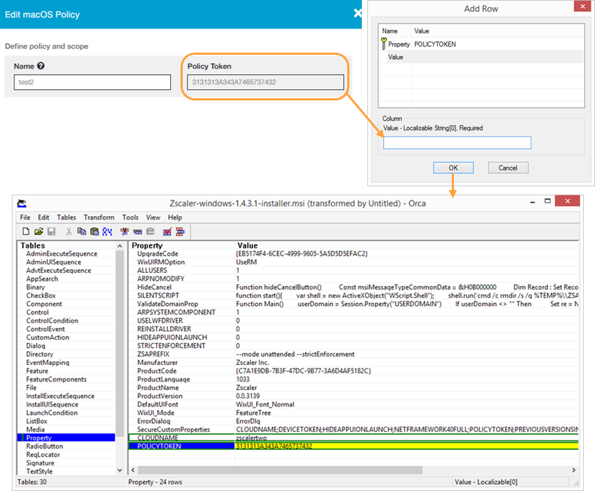 Customizing the Zscaler App with Install Options (MSI) | Zscaler