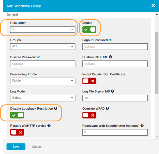 Using Fiddler with Zscaler App | Zscaler