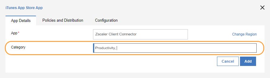Deploying the Zscaler App with MaaS360 (iOS) | Zscaler