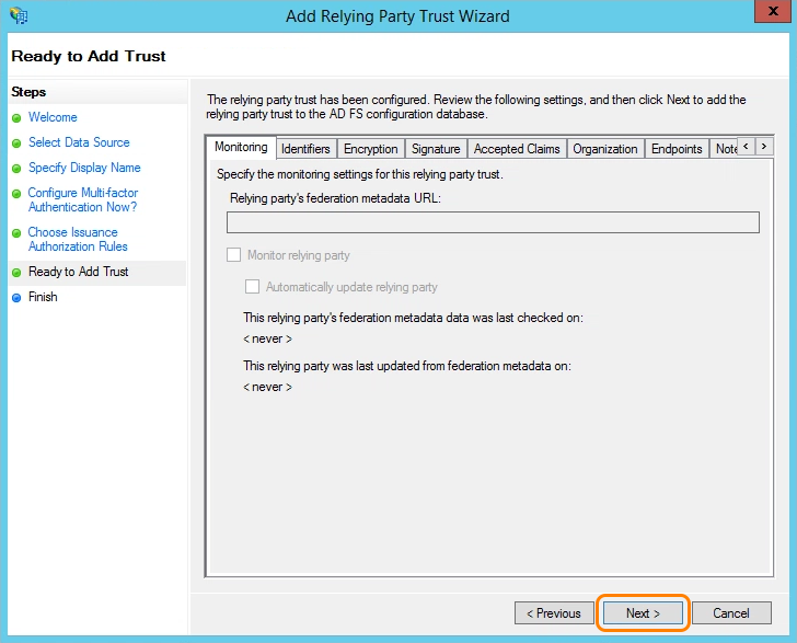 Admin SAML Configuration Guide for ADFS | Zscaler