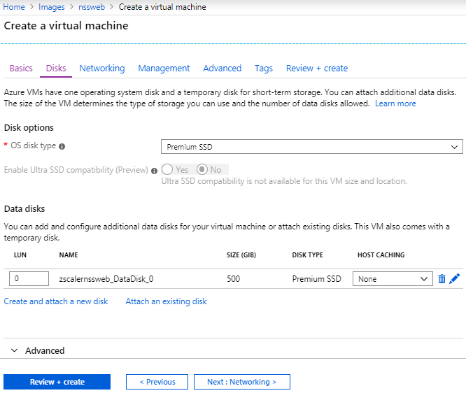 NSS Deployment Guide for Azure | Zscaler