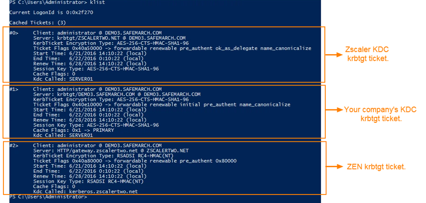 Troubleshooting Kerberos Authentication | Zscaler