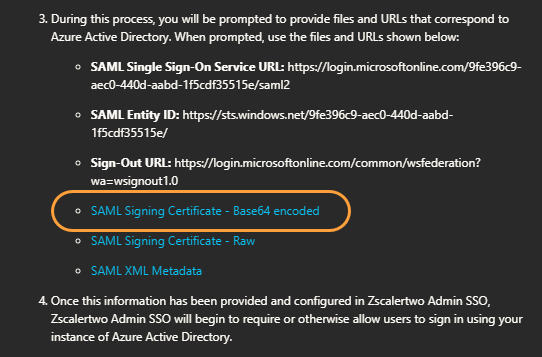 Admin SAML Configuration Guide for Azure Active Directory
