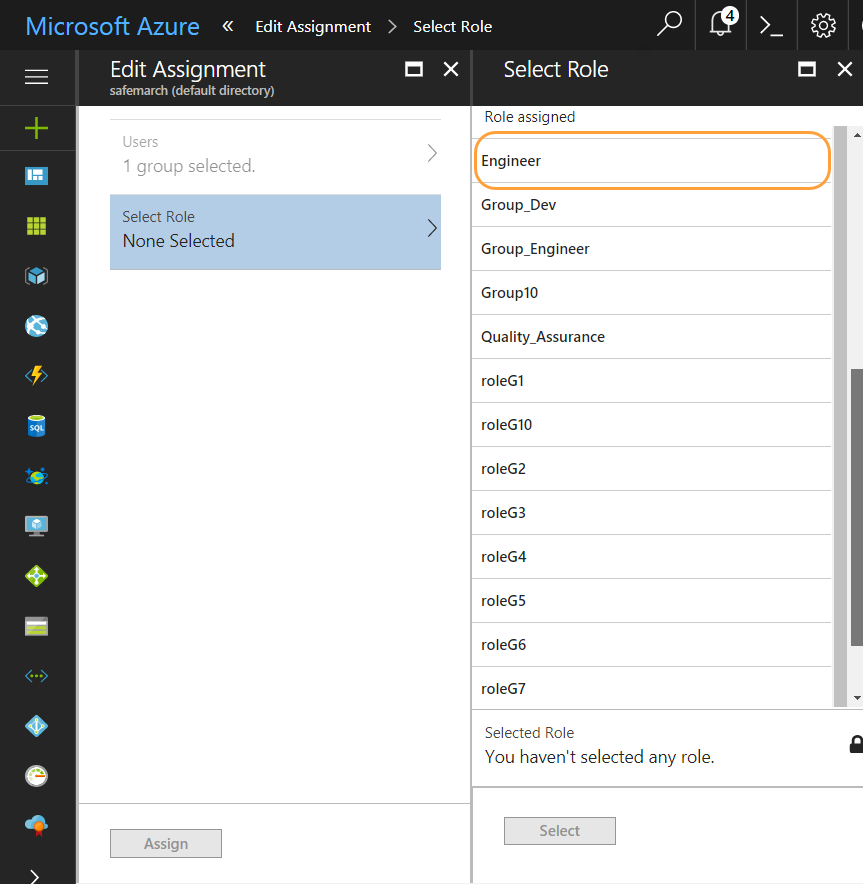 how to add an application for azure saml