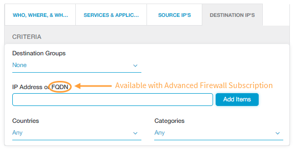 Configuring the Firewall Filtering Policy | Zscaler