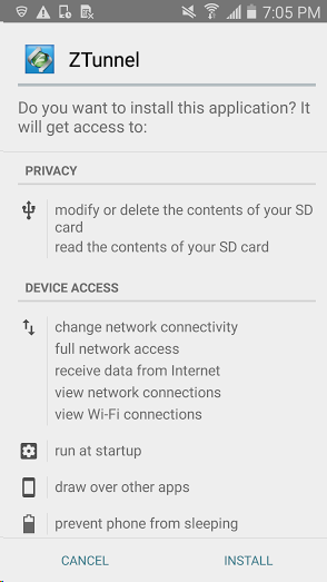 Zscaler SecureAgent Deployment Guide for Android Devices