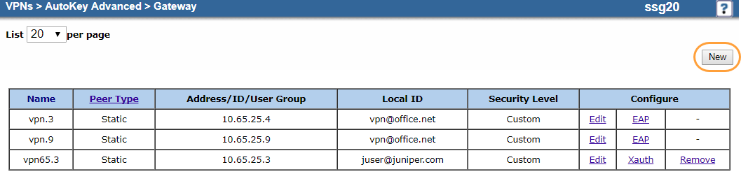 IPSec VPN Configuration Guide for Juniper SSG 20 | Zscaler