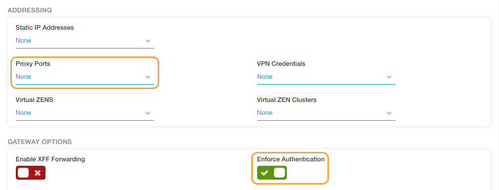 Configuring Dedicated Proxy Ports | Zscaler