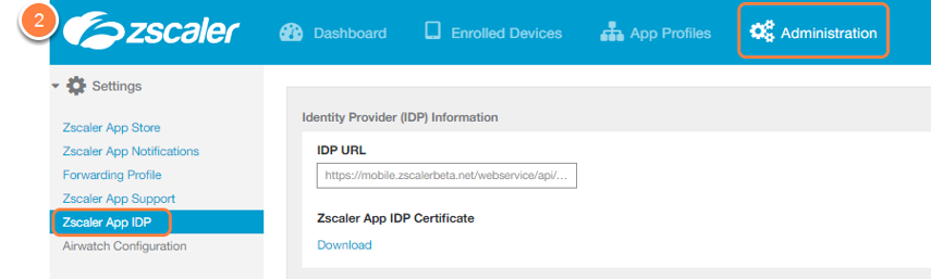 Using The Zscaler App Portal As An Identity Provider Idp