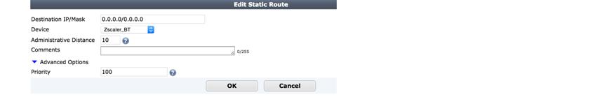 IPSec VPN Configuration Guide for FortiGate 60D Firewall | Zscaler