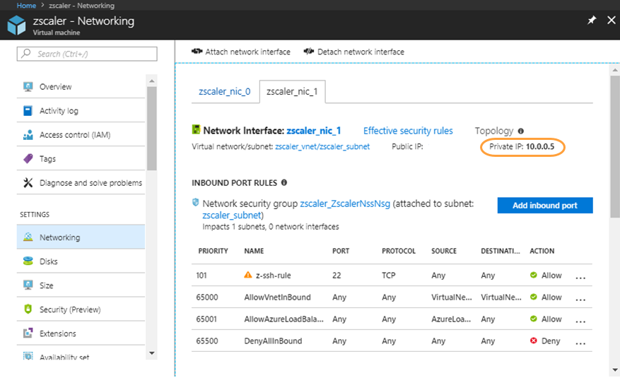 How do I configure and start NSS on Azure VM? | Zscaler