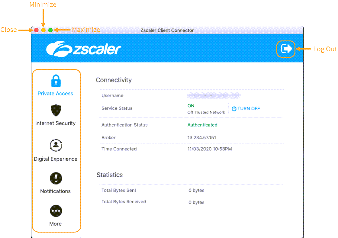Using the Zscaler App: macOS | Zscaler