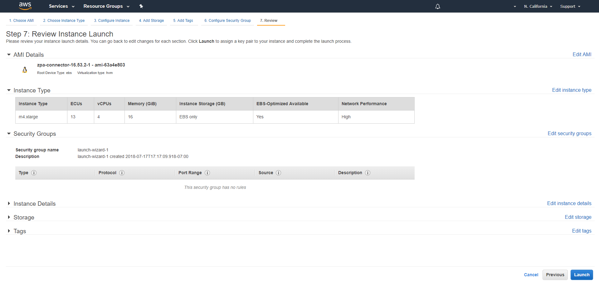 Connector Deployment Guide for Amazon Web Services | Zscaler