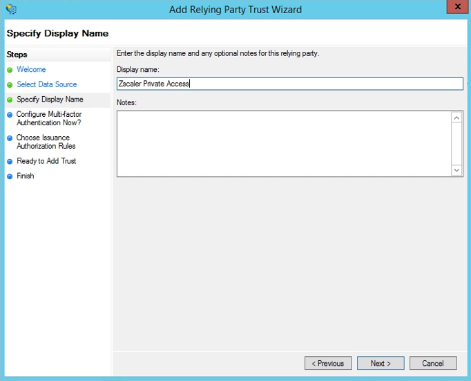 Configuration Guide for Microsoft ADFS 2 0 and 3 0 | Zscaler