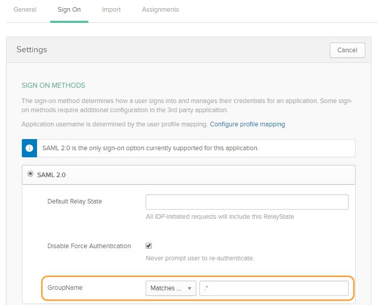Configuration Guide for Okta | Zscaler