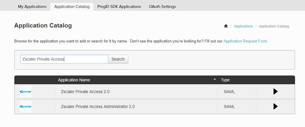 Configuration Guide for Ping Identity PingOne | Zscaler